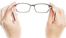 Limpiar los cristales de las gafas