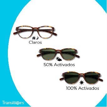 bdc1a5d368 Prodevisión | Lentes Transitions. Lentes que cambian con el sol