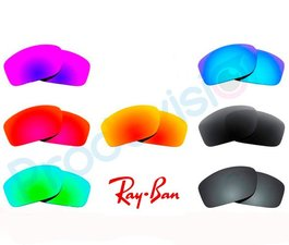 Lentes Ray-Ban sol uniformes, degradados o espejados