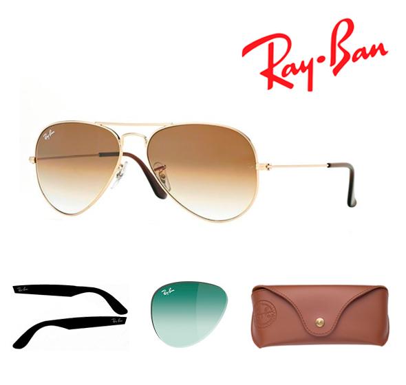 Recambios Gafas Ray-Ban