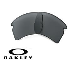 Lente de Recambio Oakley OO9188 Flak 2.0 XL Black Iridium Polarized