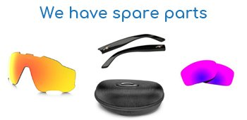 we have spare parts