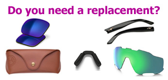Spare parts for glasses