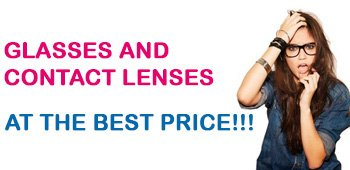 Glasses and contact lenses at the best price