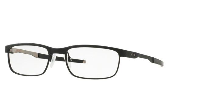 5664e0f00e05 Prescription glasses Oakley Frame OX3222 STEEL PLATE 322201