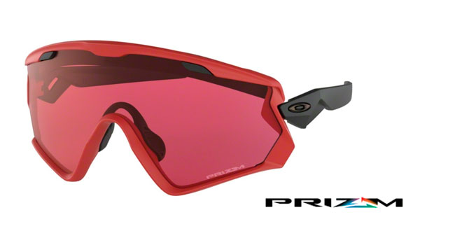 1ee4a8157b049 OO9418 WIND JACKET 2.0 941806. Frame colour  VIPER RED