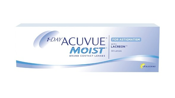 1-Day Acuvue Moist For Astigmatism (30 Lentillas)