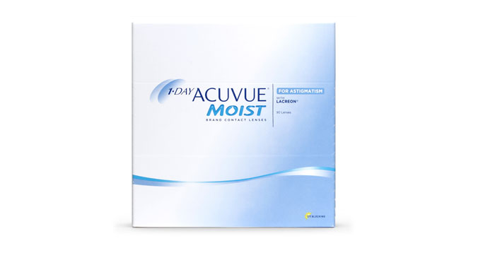 1-Day Acuvue Moist For Astigmatism (90 Lentillas)