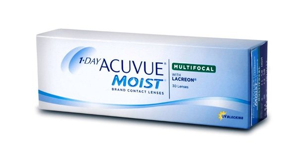 1-Day Acuvue Moist Multifocal (30 Lentillas)