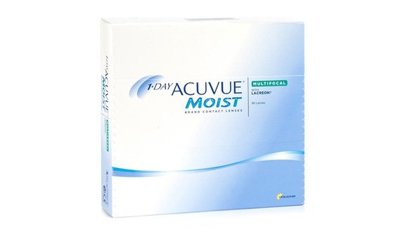 1-Day Acuvue Moist Multifocal (90 Lentillas)