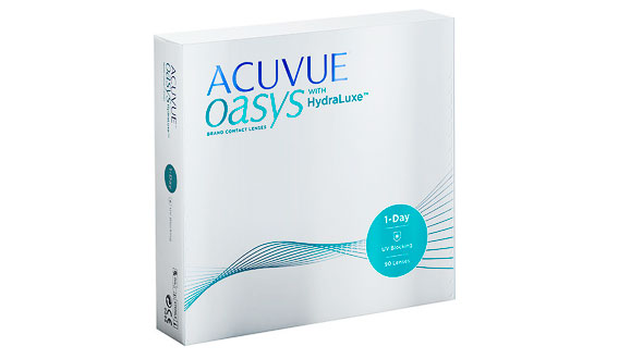 1 Day Acuvue Oasys With Hydraluxe (90 lentillas)