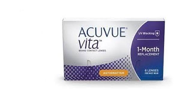 Acuvue Vita for Astigmatism (6 lentillas)
