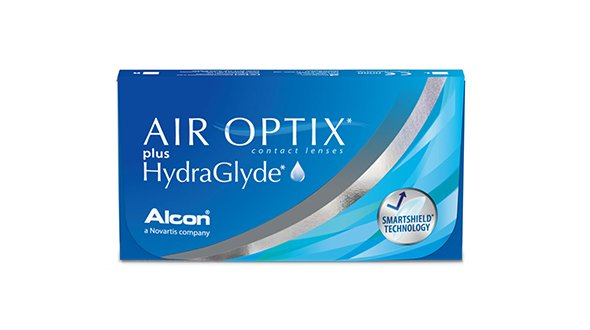 Air Optix Plus Hidraglyde (6 Lentillas)