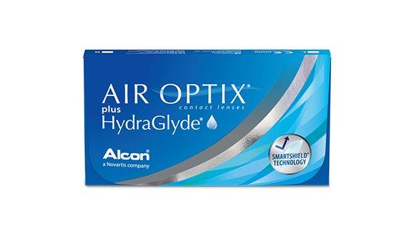 Air Optix Plus Hidraglyde (6 Lentillas)