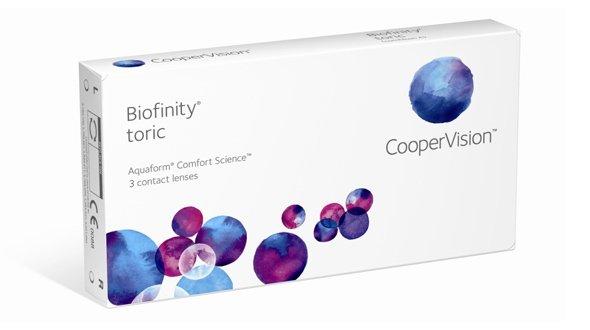 Biofinity Toric (3 Lentillas)