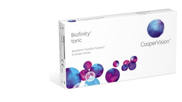 Biofinity Toric (6 Lentillas)