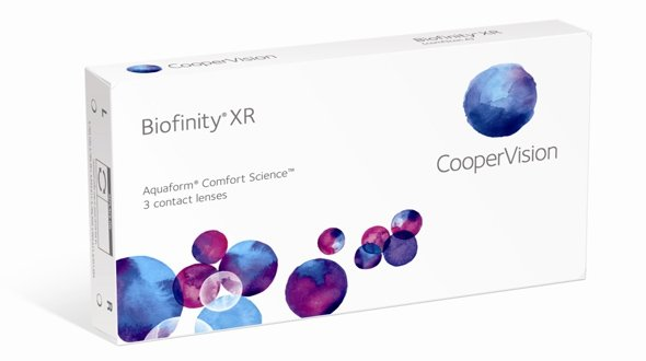 Biofinity XR (3 Lentillas)