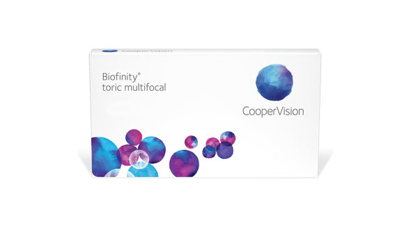 Biofinity XR Toric Multifocal (3 Lentillas)
