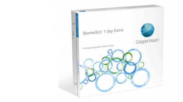 Biomedics 1 Day Extra (90 Lentillas)