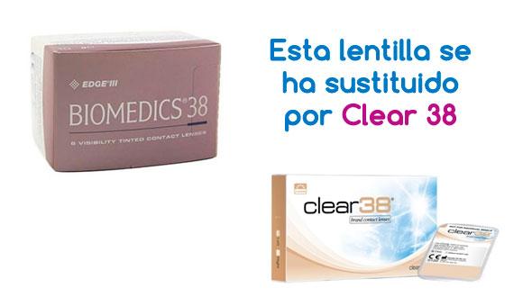 Biomedics 38 (6 Lentillas)