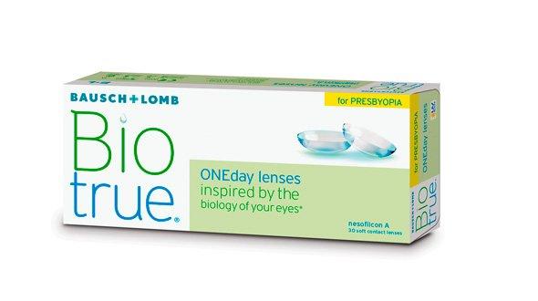 Biotrue ONEday For Presbyopia (30 Lentillas)