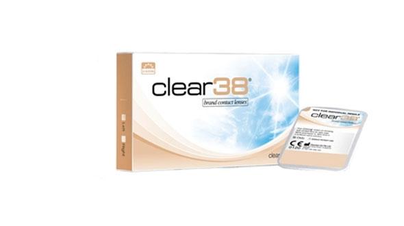 Clear 38 (6 lentillas)