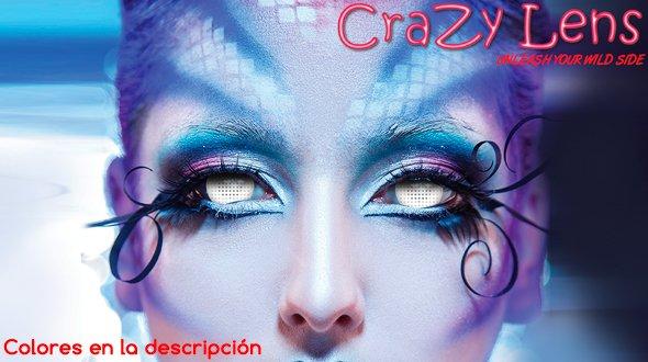Crazy Lens 17 mm Lentillas de Fantasía