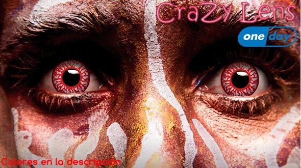 Crazy Lens Lentillas Diarias de Fantasía Neutras