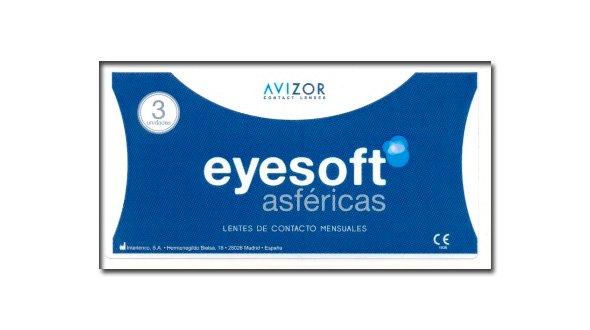 Eyesoft Asféricas ( 3 Lentillas)