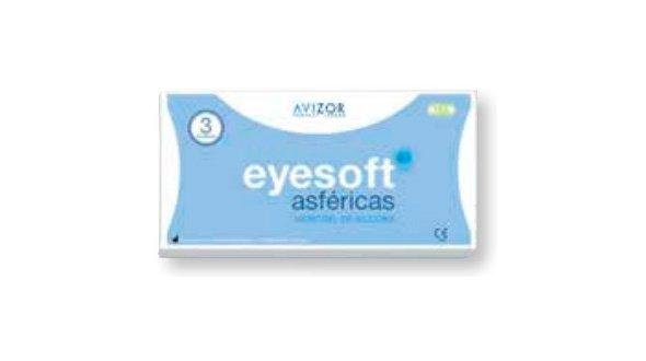 Eyesoft SiHi Asféricas (3 Lentillas)