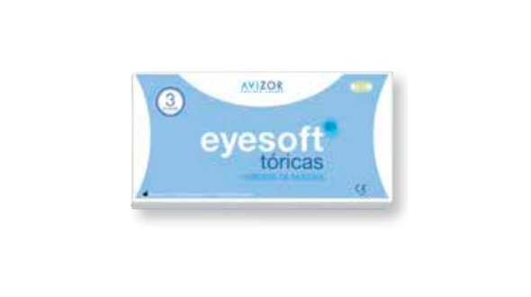 Eyesoft SiHi Tóricas ( 3 Lentillas)