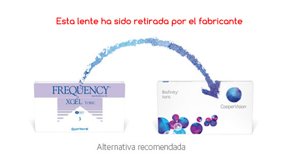 Frequency Xcel Toric (3 Lentillas)