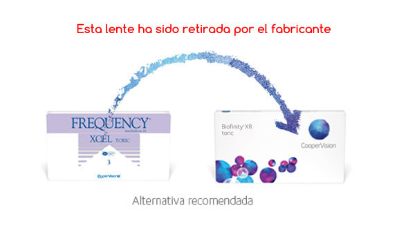 Frequency Xcel Toric XR (3 Lentillas)
