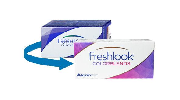 Freshlook Colorblends Graduadas (2 Lentillas)