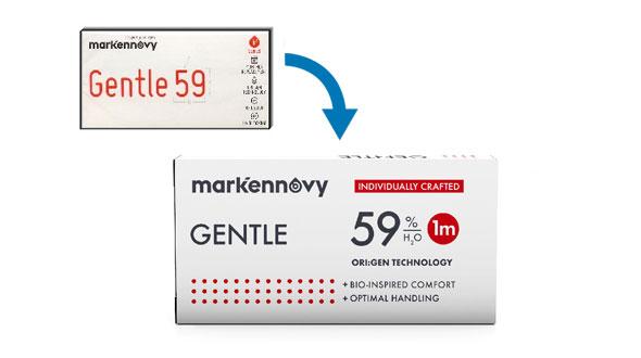 Gentle 59 Multifocal Tórica (3 Lentillas)