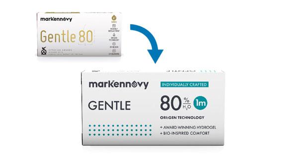 Gentle 80 Multifocal (3 Lentillas)