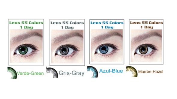 Lens 55 1 Day Colors (2 lentillas)