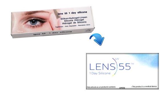 Lens 55 1 Day Silicone (15 Lentillas)