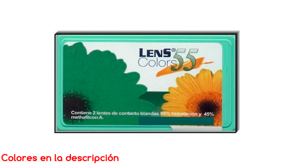 Lens 55 Color (2 Lentillas)