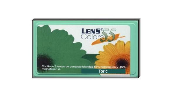 Lens 55 Toric Color (1 Lentilla)