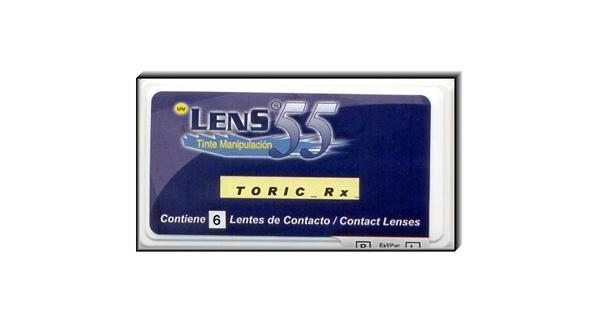 Lens 55 Toric RX, BLISTER