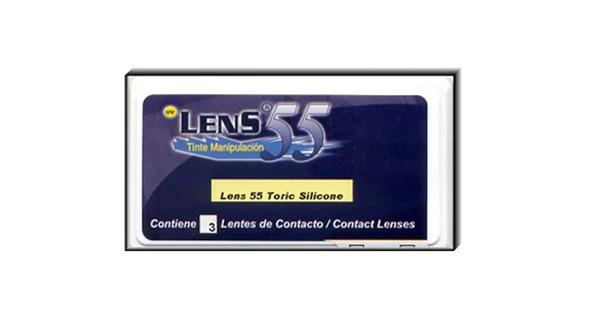 Lens 55 Toric Silicone (3 Lentillas)