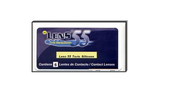Lens 55 Toric Silicone (6 Lentillas)
