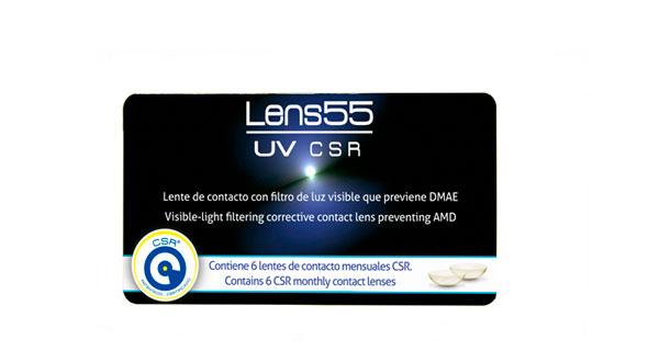 Lens 55 UV CSR (6 Lentillas)