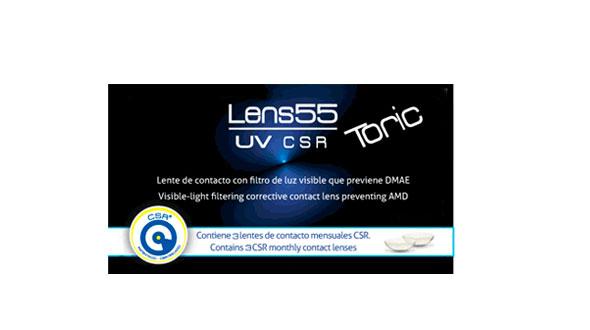 Lens 55 UV CSR Toric (3 Lentillas)