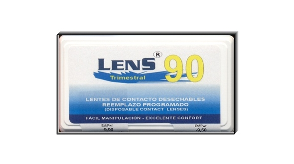 Lens 90 Trimestral (1 Lentilla)