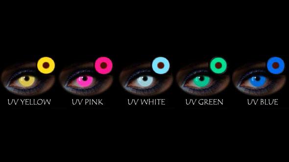 Lentes de Fantasía Diarias UV Fashion