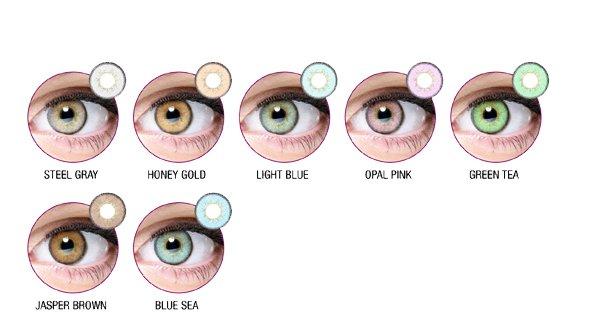 Lentilla de Color Anual Natural Diamonds Fashion
