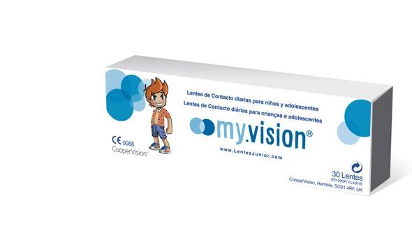 Myvision Junior (30 Lentillas)