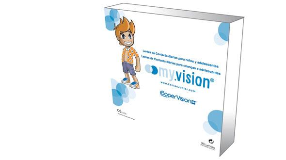 Myvision Junior (90 Lentillas)